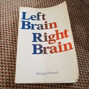 """""""Left Brain, Right Brain"""" Vintage 1981 Softcover"""